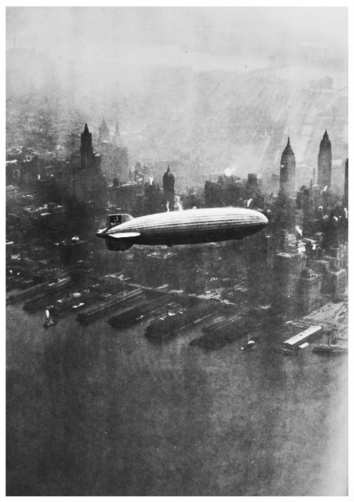 The Hindenburg, 1936